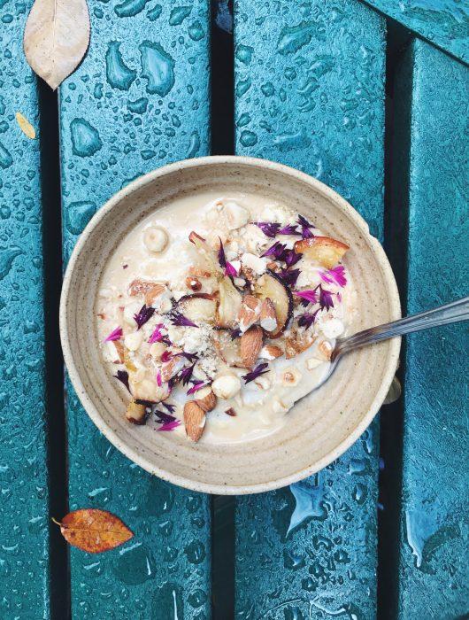 mangiare porridge a londra