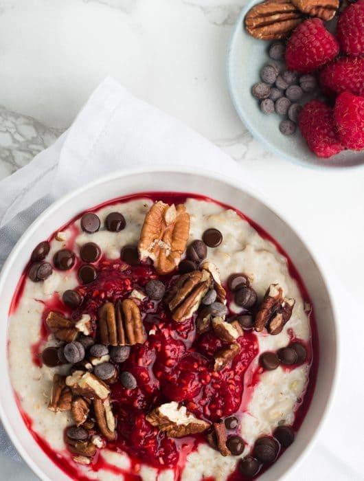 porridge per colazione