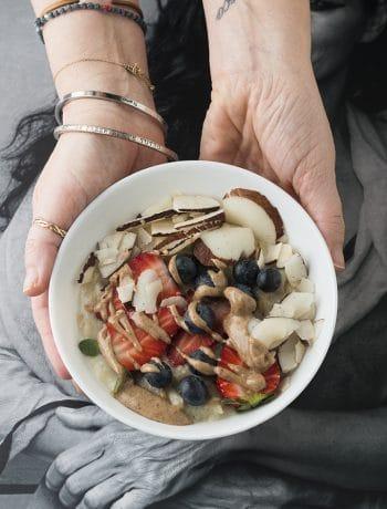 Porridge con le fragole_crisula barbata