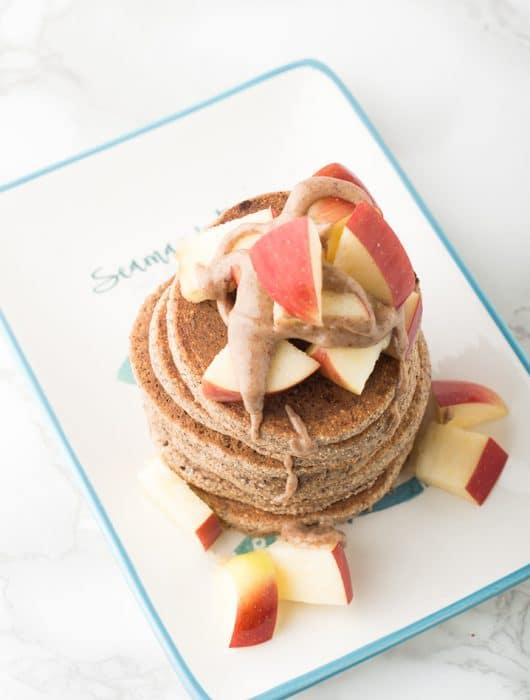 pancake senza glutine_crisula barbata