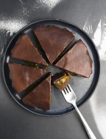 sacher torte senza zucchero